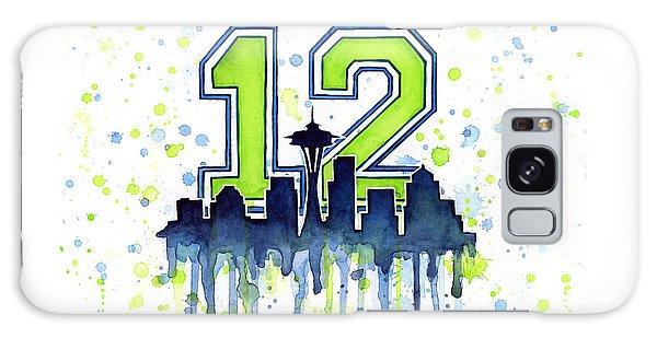 Seattle Seahawks 12th Man Art Galaxy S8 Case