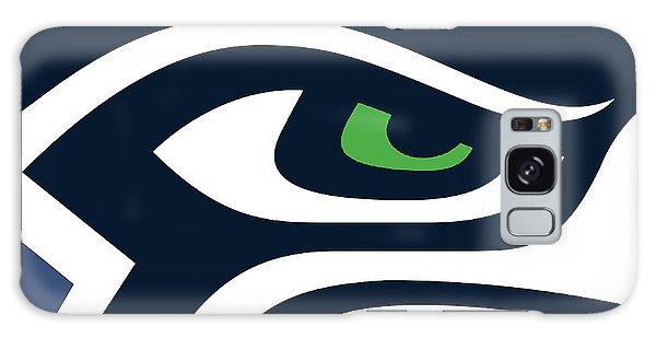 Seattle Seahawks Galaxy Case by Tony Rubino