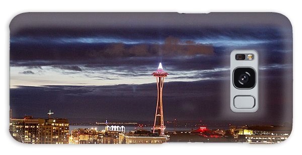 Seattle Space Needle Holidays  Galaxy Case