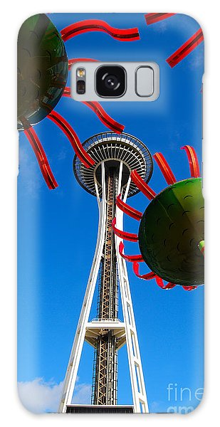 Seattle Space Needle Galaxy Case