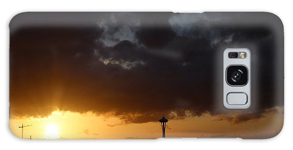 Seattle Space Needle Sunset Galaxy Case