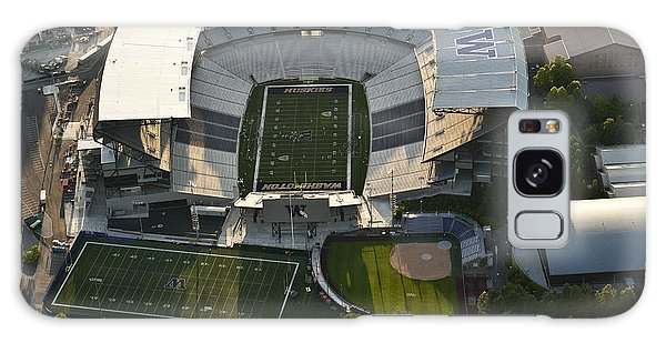 Seattle With Aerial View Of The Newly Renovated Husky Stadium Galaxy Case