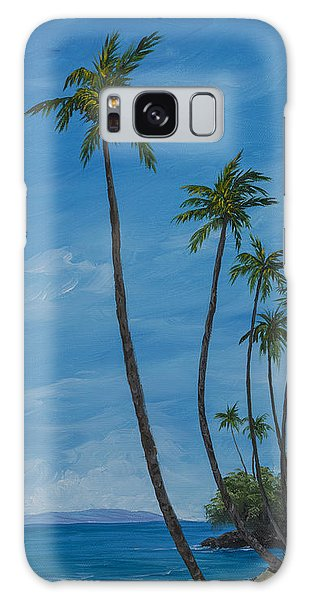 Seawall Palms Galaxy Case