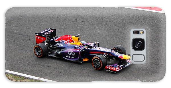 Sebastian Vettel Galaxy Case by David Grant