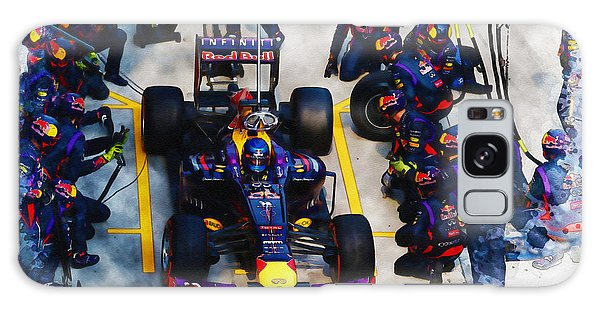 Sebastian Vettel Of Germany Galaxy Case
