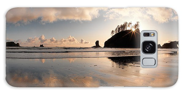 Second Beach Galaxy Case by Leland D Howard