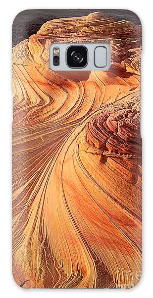 Southwest Usa Galaxy Case - Second Wave Flow by Inge Johnsson