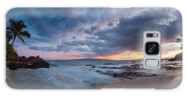Secret Beach Pano Galaxy Case by James Roemmling