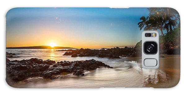 Water Ocean Galaxy Case - Secret Beach Sunset by Jamie Pham