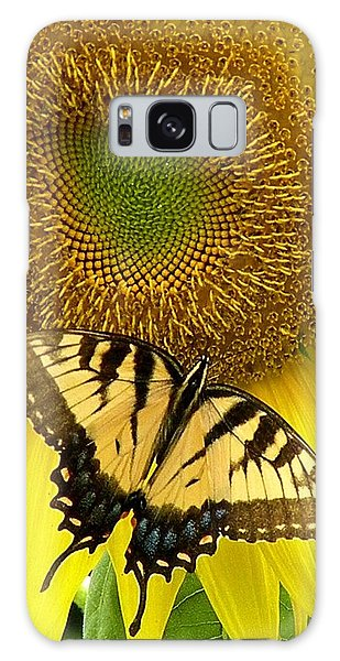 Secret Lives Of Sunflowers Galaxy Case