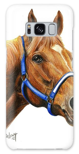 Secretariat With Halter Galaxy Case