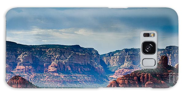 Sedona Arizona Panorama Galaxy Case by Terry Garvin