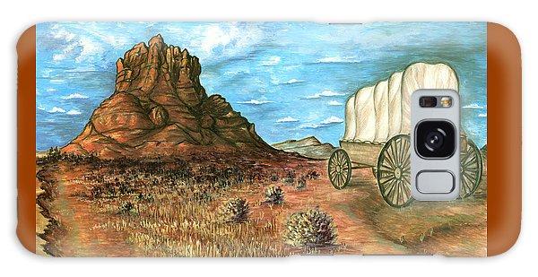 Sedona Arizona - Western Art Painting Galaxy Case