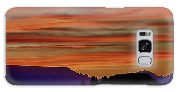 Sedona Az Sunset 2 Galaxy Case