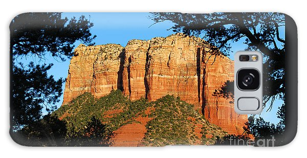 Sedona Courthouse Butte  Galaxy Case