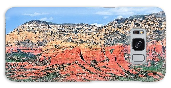 Sedona Landscape Galaxy Case by Jane Girardot