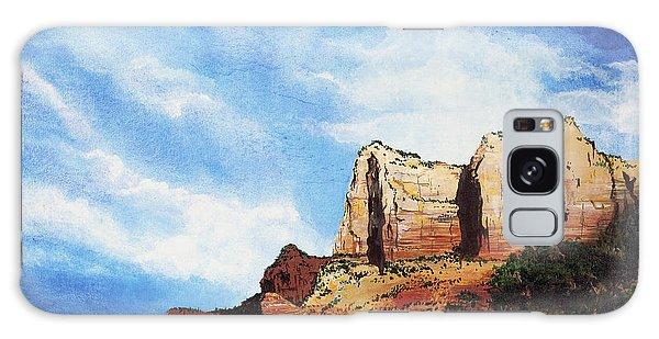 Sedona Mountains Galaxy Case