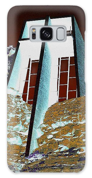 Sedona Rock Church Galaxy Case