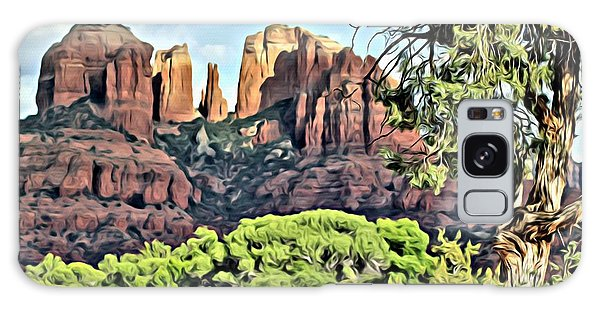 Sedona Scene Galaxy Case