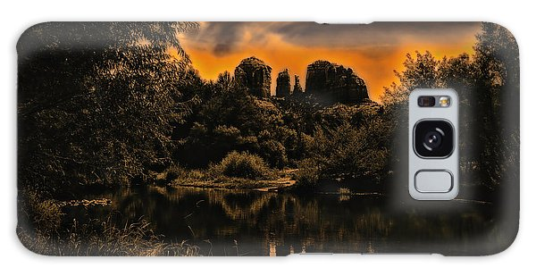 Sedona Sundown ... Galaxy Case by Chuck Caramella