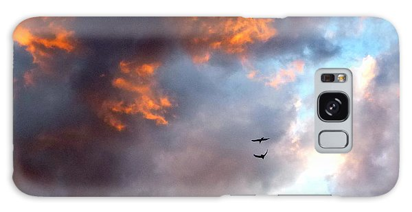 Sedona Sunset Ravens Galaxy Case