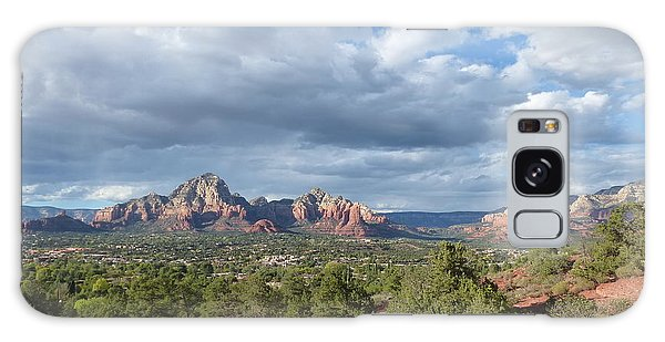 Sedona View Trail Galaxy Case by Marlene Rose Besso
