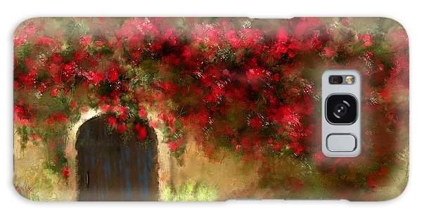 The Bougainvillea's Of Sedona Galaxy Case by Colleen Taylor