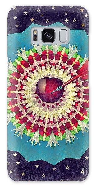 Galaxy Case featuring the digital art Seduction  by Eleni Mac Synodinos
