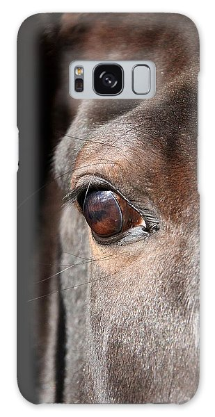 See My Soul Galaxy Case by Davandra Cribbie
