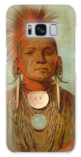 Indian Head Galaxy Case - See Non Ty A An Iowa Medicine Man by George Catlin