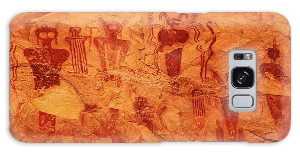 Sego Canyon Rock Art Galaxy Case by Alan Vance Ley