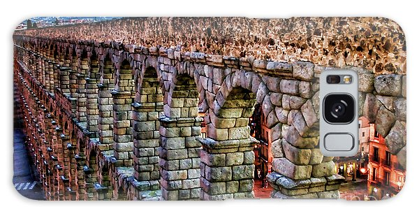 Segovia Aqueduct Spain By Diana Sainz Galaxy Case