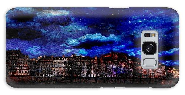 Seine River Paris France Galaxy Case