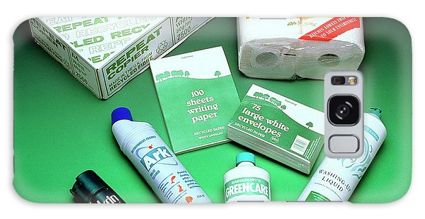 Recycle Galaxy Case - Selection Of Environment-friendly Products by Sheila Terry/science Photo Library