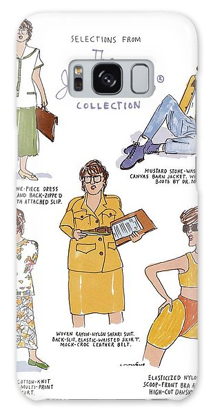 Selections From The Janet Reno Collection Galaxy Case