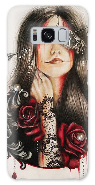 Self Affliction Galaxy Case by Sheena Pike