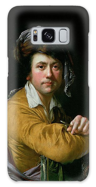 Turban Galaxy Case - Self Portrait At The Age Of About Forty, C.1772-3 by Joseph Wright of Derby