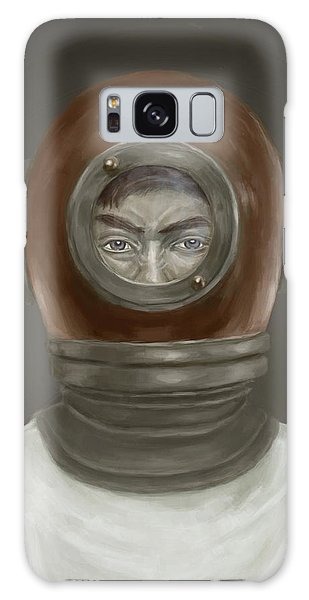 Galaxy Case - Self Portrait by Balazs Solti