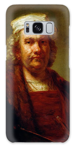 Turban Galaxy Case - Self Portrait, C.1660-63 Oil On Canvas by Rembrandt Harmensz. van Rijn