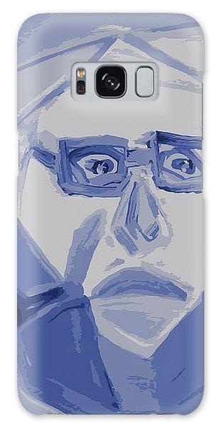 Self Portrait In Cubism Galaxy Case