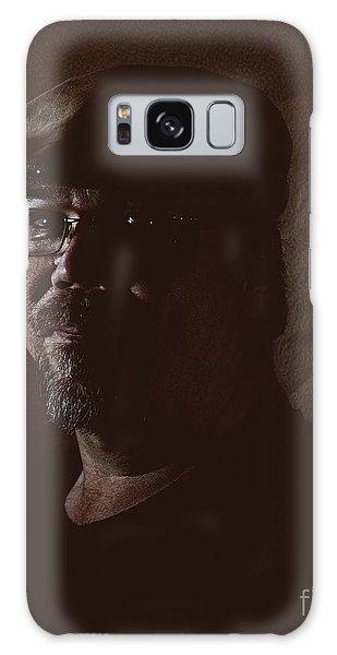 Self Portrait Galaxy Case by Mark McReynolds