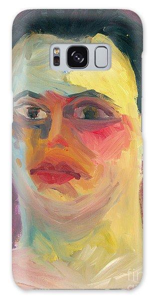 Self Portrait Oil Panting Galaxy Case