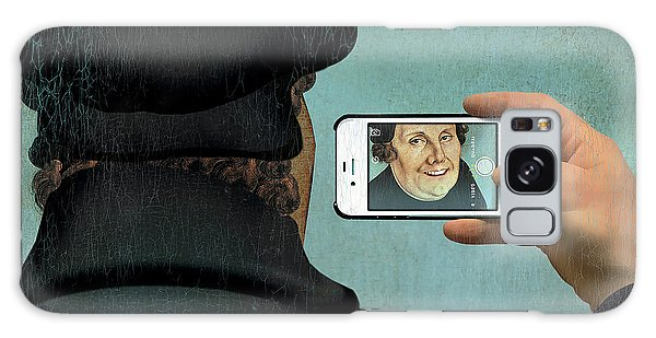 Martin Luther Galaxy Case - Self-portrait by Smetek/science Photo Library