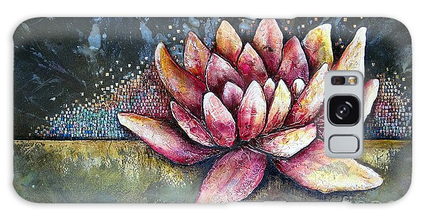 Symbolism Galaxy Case - Self Portrait With Lotus by Shadia Derbyshire