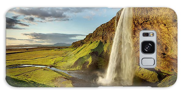 Seljalandsfoss Iceland Galaxy Case