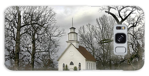Selma United Methodist Church In Winter Galaxy Case