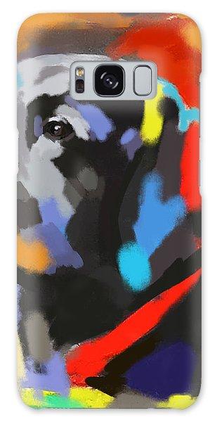 Dog Sem Galaxy Case by Go Van Kampen