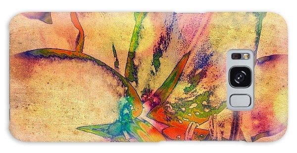 Springtime Floral Abstract Galaxy Case