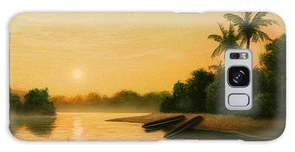 Native American Galaxy Case - Seminole Sunset by Jerry LoFaro