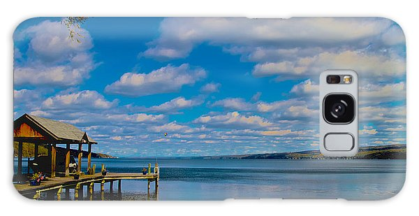 Seneca Lake At Glenora Point Galaxy Case by William Norton